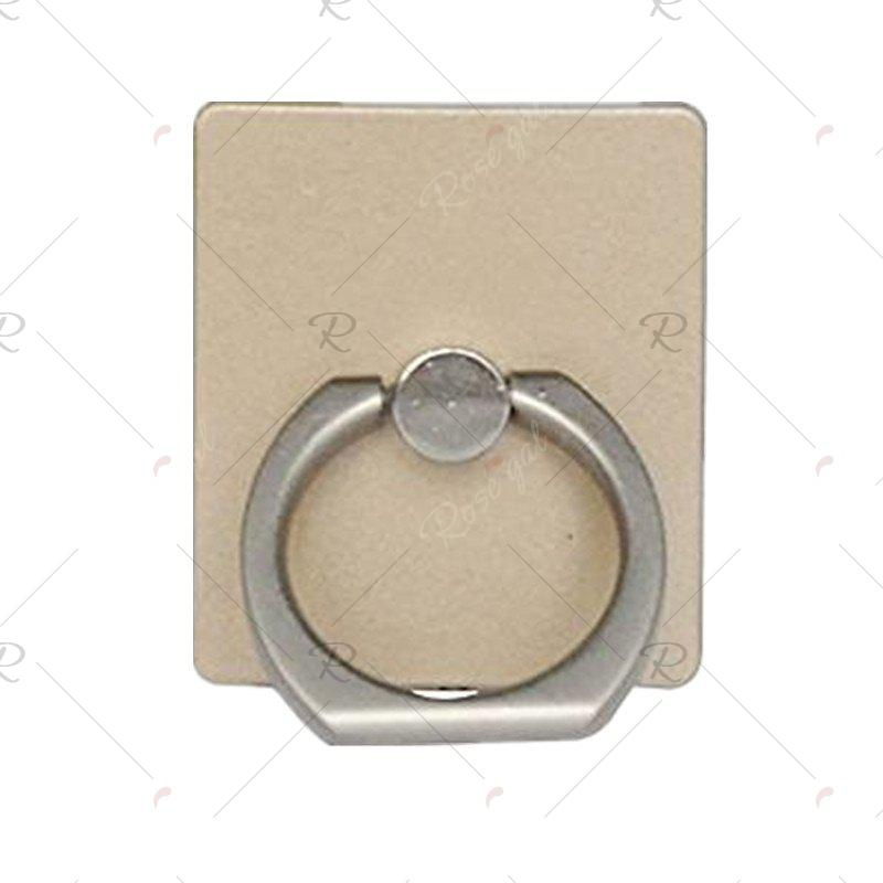 Universal Phone Ring Bracket holderHOME<br><br>Color: GOLDEN; Product weight: 0.0100 kg; Package weight: 0.0200 kg; Product size (L x W x H): 5.60 x 4.60 x 5.00 cm / 2.2 x 1.81 x 1.97 inches; Package size (L x W x H): 5.80 x 4.80 x 4.00 cm / 2.28 x 1.89 x 1.57 inches;