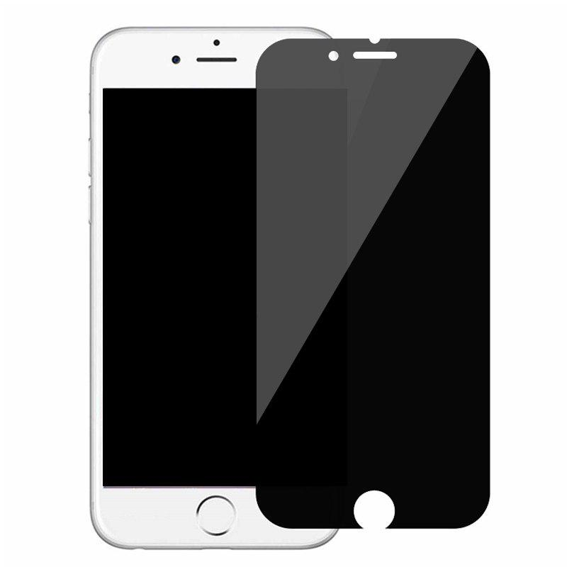 Fancy Anti-Peep Tempered Glass Film Protective Film for iPhone 8 Plus