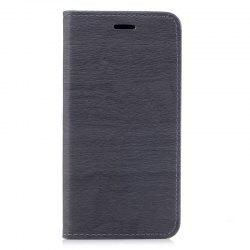 Wood Grain Flip Magnetic PU Leather Phone Cover Case for iPhone 6Plus 6sPlus -