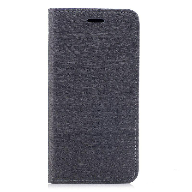 Store Wood Grain Flip Magnetic PU Leather Phone Cover Case for iPhone 6Plus 6sPlus