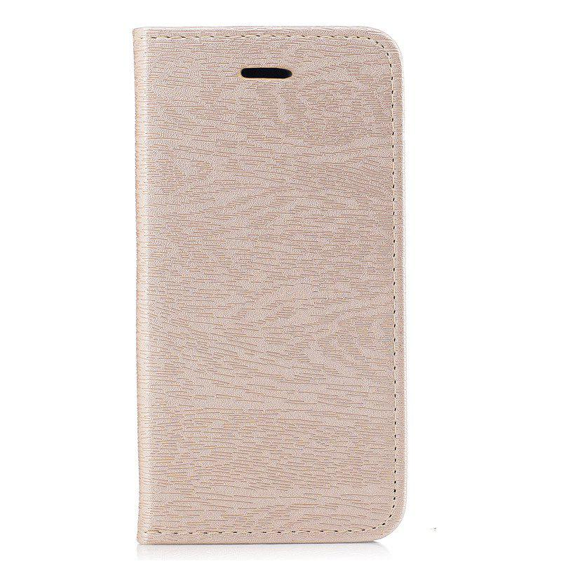 Fancy Wood Grain Flip Magnetic PU Leather Phone Cover Case for iPhone 6Plus 6sPlus