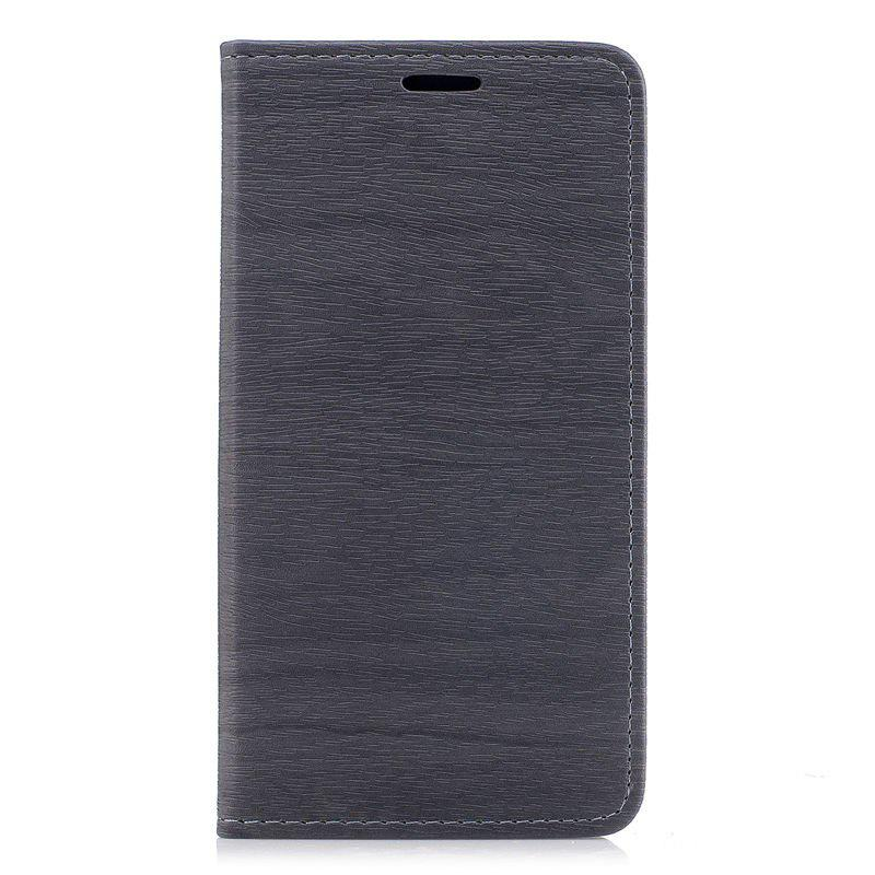 Fancy Wood Grain Flip Magnetic PU Leather Phone Cover for Samsung Galaxy J7 2017 J730 EU