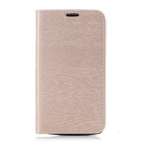 Latest Wood Grain Flip Magnetic PU Leather Phone Cover Case for Lenovo A1000