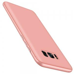 3 in 1 Hard PC 360 Full Protect Back Cover for Samsung Galaxy S8 -