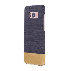 For Samsung Galaxy S8 Plus Case Canvas Color Phone Back Shell -