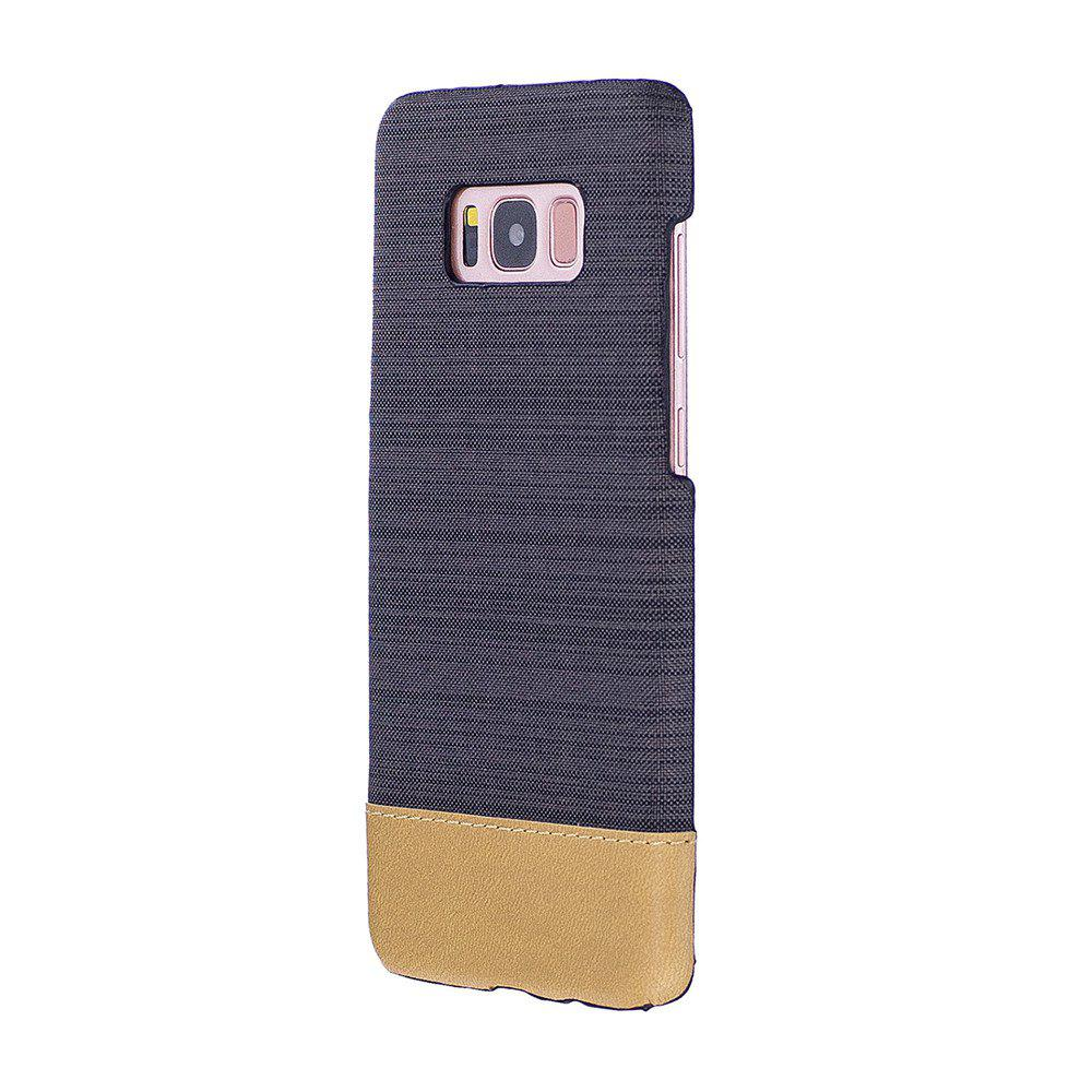 Sale For Samsung Galaxy S8 Plus Case Canvas Color Phone Back Shell