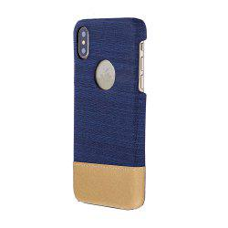 For iPhone X Case Back Shell Canvas Following From Hitting Scene -