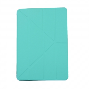 For New iPad 9.7 Inch 2017 PU Leather Magentic Smart Cover Soft TPU Back Case -