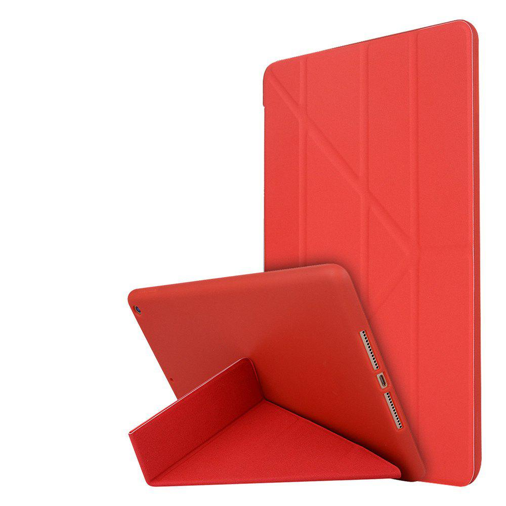 Shop For New iPad 9.7 Inch 2017 PU Leather Magentic Smart Cover Soft TPU Back Case