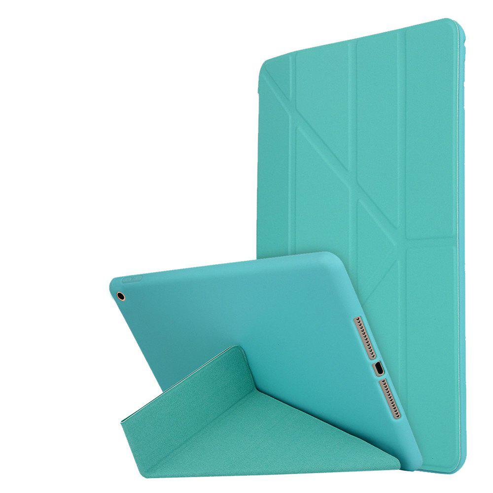 New For New iPad 9.7 Inch 2017 PU Leather Magentic Smart Cover Soft TPU Back Case