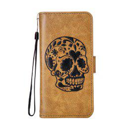 Case For Samsung Note 8 Leather Can Insert Card Holder Head Layer Cowhide Mobile Protection Shell Following From Gold Silkworm Series -