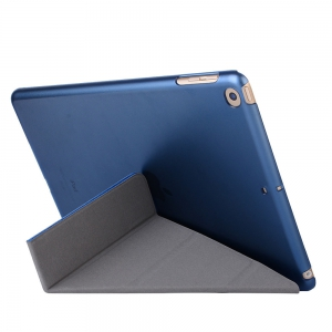 For iPad 2017 Case Model A1822 A1823 9.7 Inch Soft Tpu Leather Surface Cover Flip Stand Safe Smart -