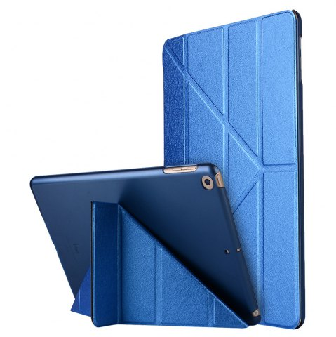 New For iPad 2017 Case Model A1822 A1823 9.7 Inch Soft Tpu Leather Surface Cover Flip Stand Safe Smart