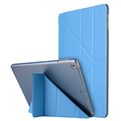 Shops For iPad 2017 Case Model A1822 A1823 9.7 Inch Soft Tpu Leather Surface Cover Flip Stand Safe Smart