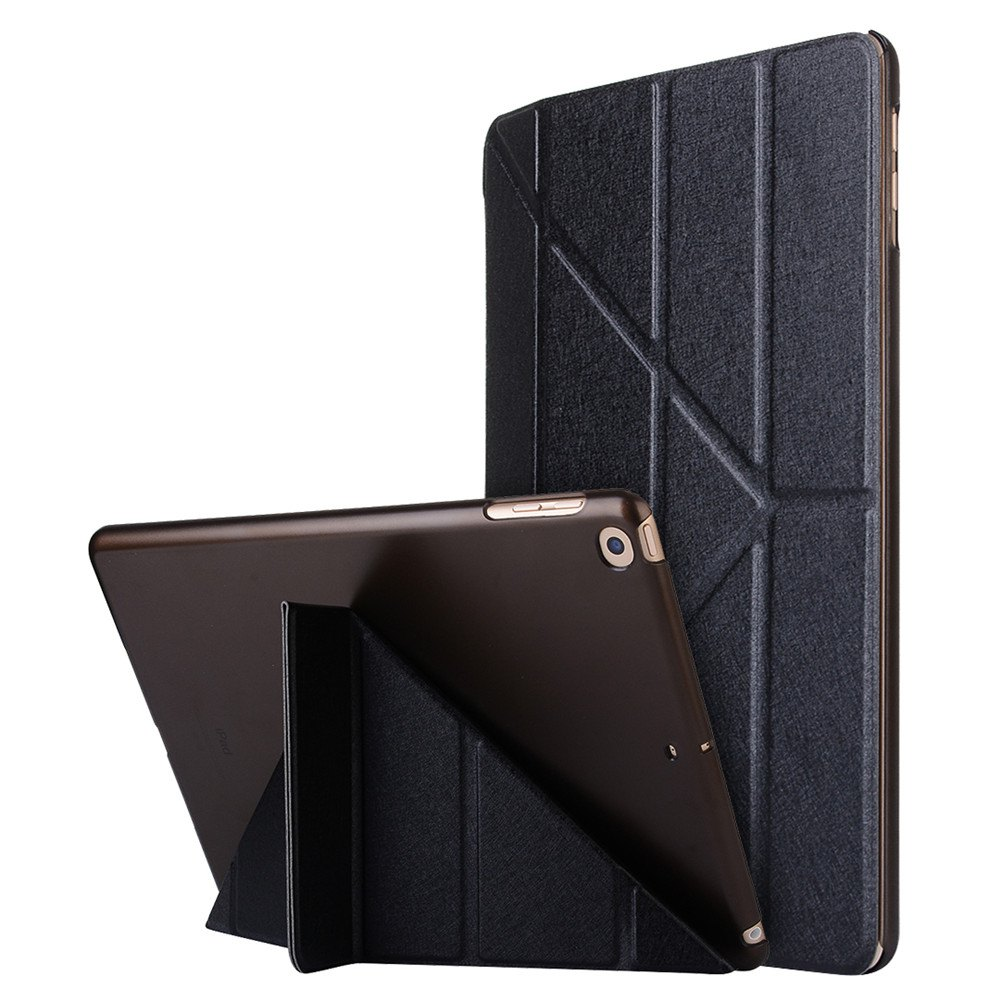 Unique For iPad 2017 Case Model A1822 A1823 9.7 Inch Soft Tpu Leather Surface Cover Flip Stand Safe Smart