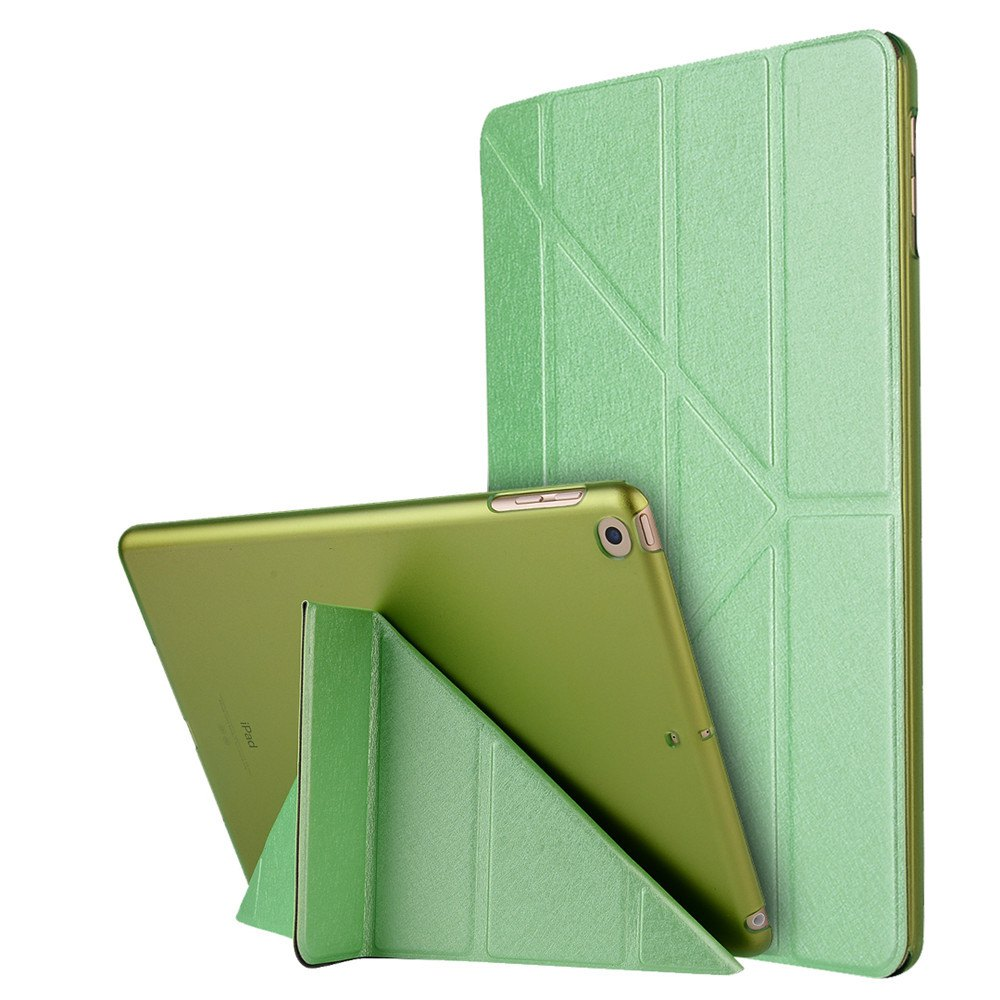 Shop For iPad 2017 Case Model A1822 A1823 9.7 Inch Soft Tpu Leather Surface Cover Flip Stand Safe Smart