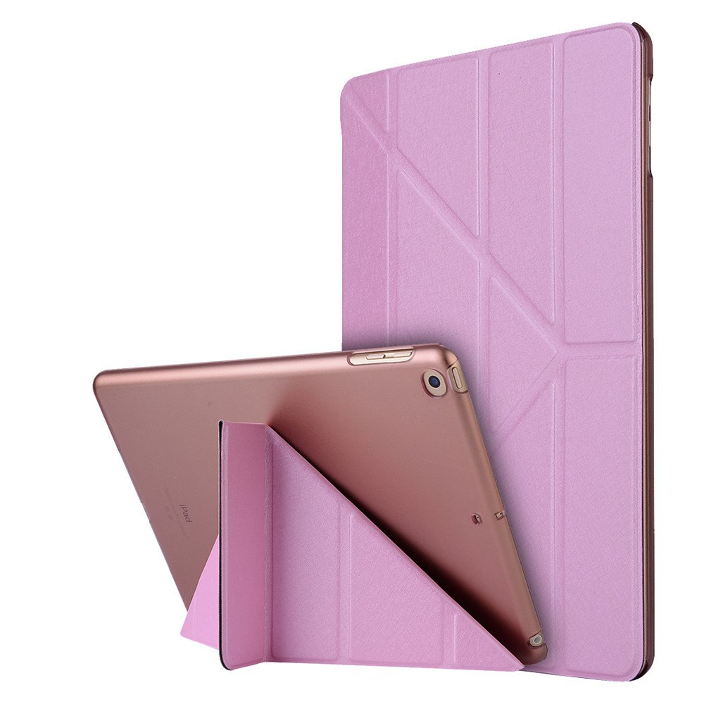Store For iPad 2017 Case Model A1822 A1823 9.7 Inch Soft Tpu Leather Surface Cover Flip Stand Safe Smart