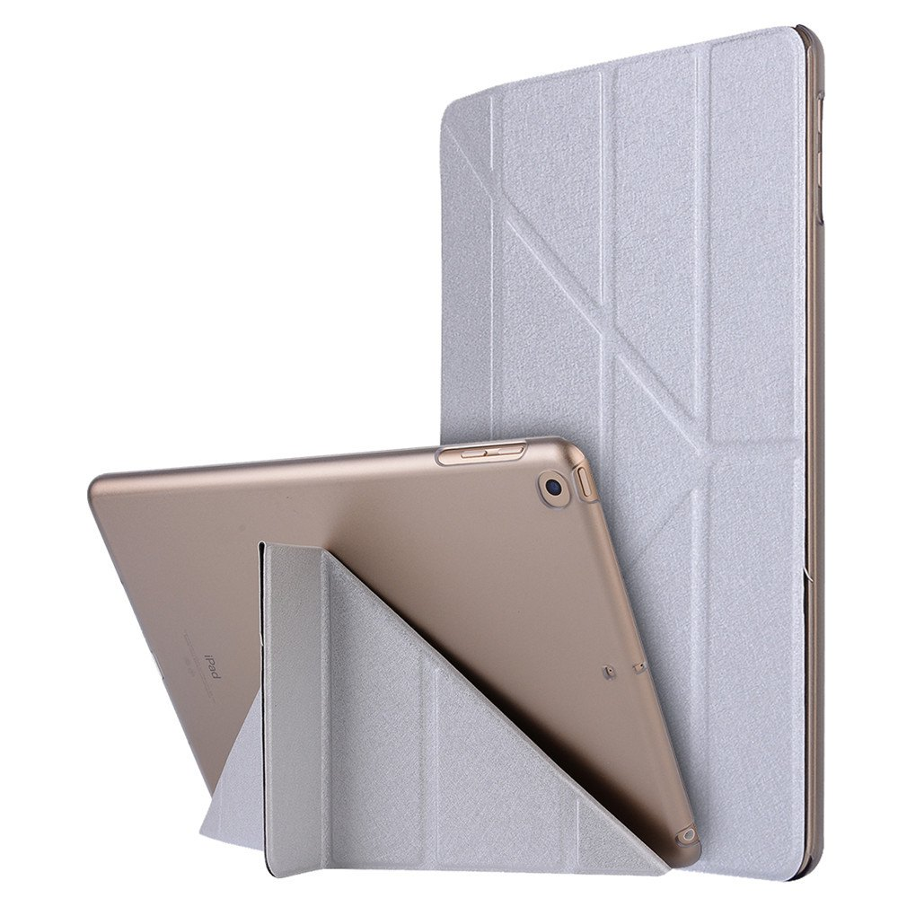 Online For iPad 2017 Case Model A1822 A1823 9.7 Inch Soft Tpu Leather Surface Cover Flip Stand Safe Smart