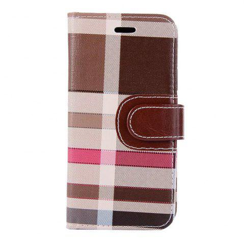 Sale Case For iPhone X  Card Holder Wallet with Stand Flip Full Body Lines / Waves Hard Textile