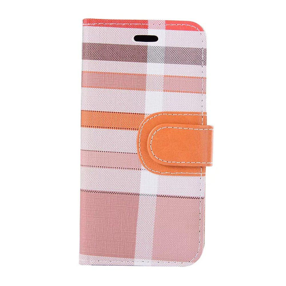 Cheap Case For iPhone X  Card Holder Wallet with Stand Flip Full Body Lines / Waves Hard Textile