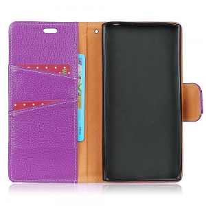 For Huawei Honor 6C Enjoy 6S Case Cover Card Holder Wallet with Stand Full Body Solid Color Hard Genuine Leather -