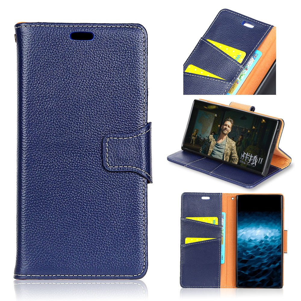 New For Huawei Honor 6C Enjoy 6S Case Cover Card Holder Wallet with Stand Full Body Solid Color Hard Genuine Leather