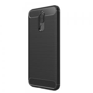 Fundas Carbon Fiber Antislip Rubber Cover for Huawei Maimang 6 Mate10 Lite Case -