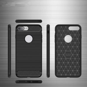 Dustproof Back Cover Solid Color Soft TPU for iPhone 8 / 7 -