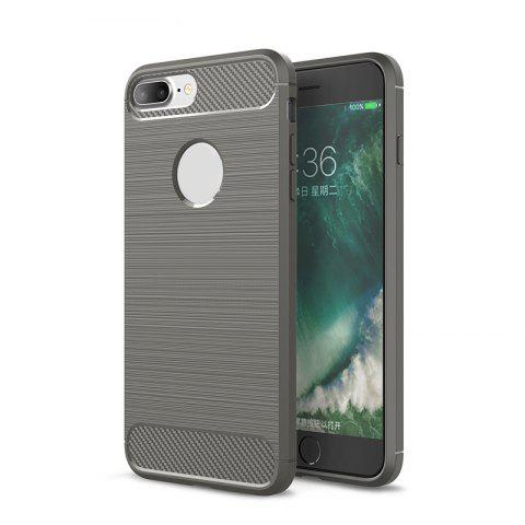 Trendy Dustproof Back Cover Solid Color Soft TPU for iPhone 8 / 7