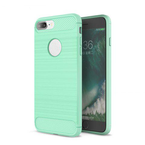 Outfit Dustproof Back Cover Solid Color Soft TPU for iPhone 8 / 7
