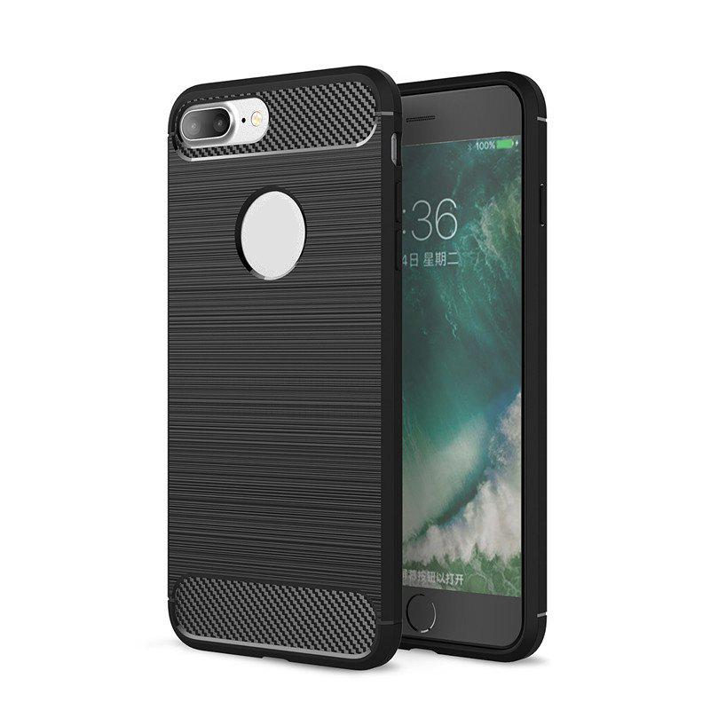 Cheap Dustproof Back Cover Solid Color Soft TPU for iPhone 8 / 7