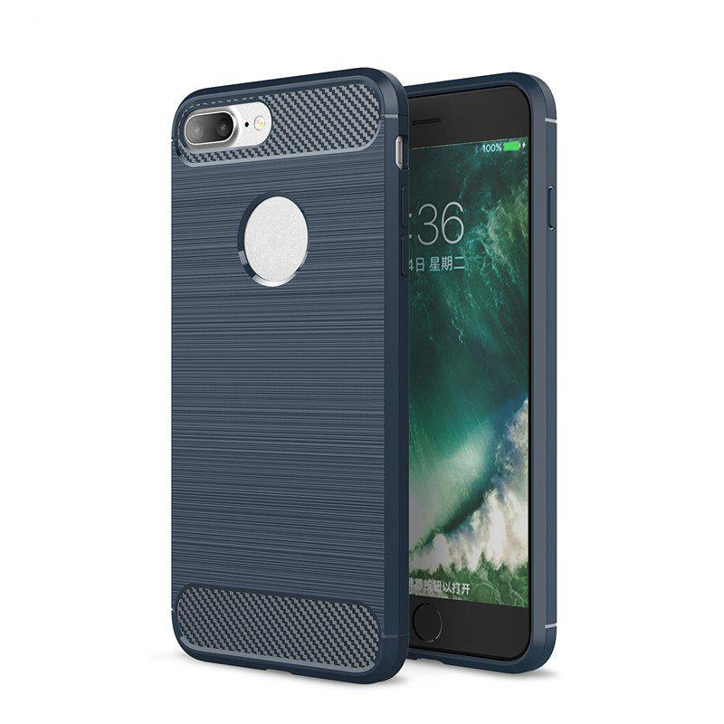 Chic Dustproof Back Cover Solid Color Soft TPU for iPhone 8 / 7
