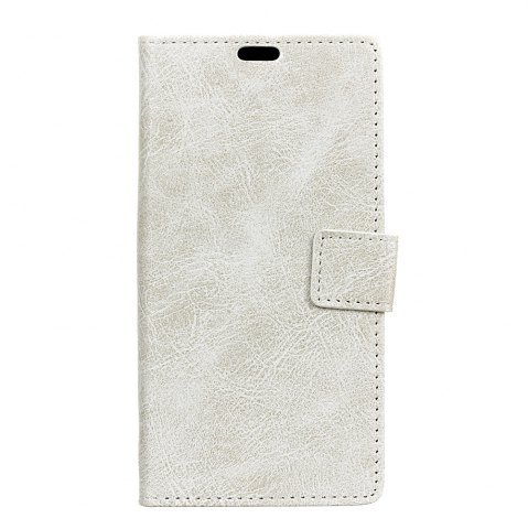 Hot Genuine Quality Retro Style Crazy Horse Pattern Flip PU Leather Wallet Case for MOTO G6