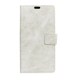 Genuine Quality Retro Style Crazy Horse Pattern Flip PU Leather Wallet Case for MOTO M -