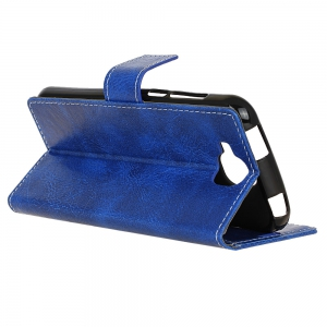 Genuine Quality Retro Style Crazy Horse Pattern Flip PU Leather Wallet Case for BQ U2  Life -