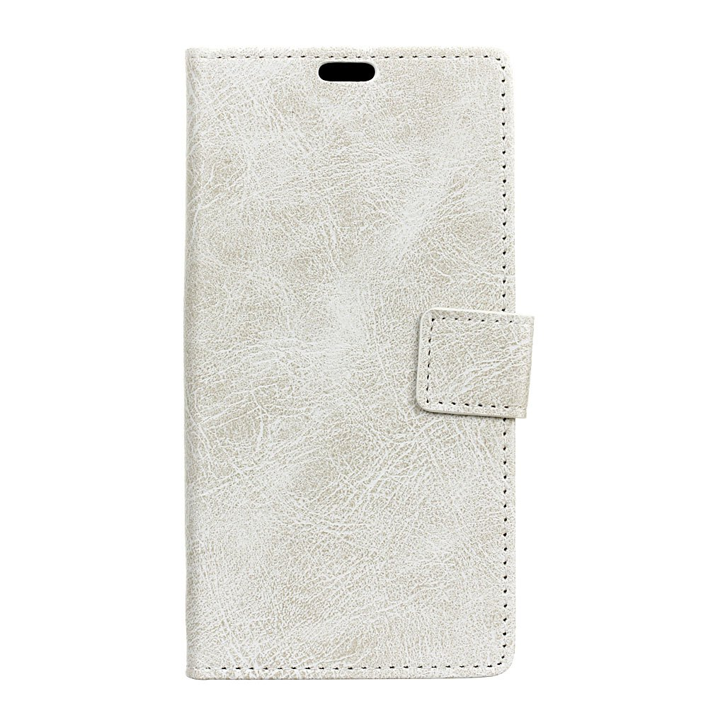Fancy Genuine Quality Retro Style Crazy Horse Pattern Flip PU Leather Wallet Case for BQ V Plus