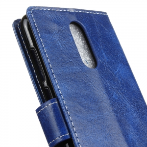 Genuine Quality Retro Style Crazy Horse Pattern Flip PU Leather Wallet Case for Huawei Enjoy 6 -