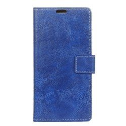 Genuine Quality Retro Style Crazy Horse Pattern Flip PU Leather Wallet Case for Huawei Honor 6X -