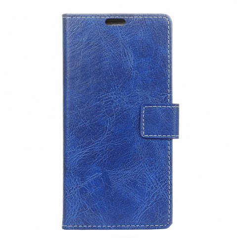 Chic Genuine Quality Retro Style Crazy Horse Pattern Flip PU Leather Wallet Case for Huawei Honor V9 Play