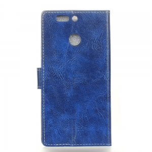 Genuine Quality Retro Style Crazy Horse Pattern Flip PU Leather Wallet Case for Huawei Nova 2 Plus -