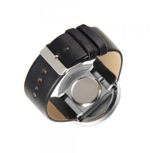 Trendy Hollow Silicone Band Women Watch -