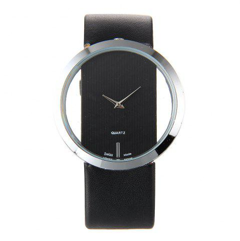 Shops Trendy Hollow Silicone Band Women Watch