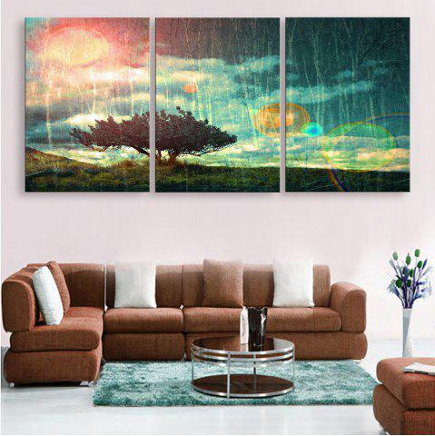 Shops Special Design Frameless Paintings 3PCS