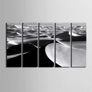 Special Design Frameless Paintings Desert Pattern 5PCS -