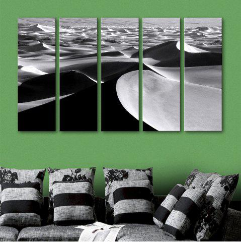 Online Special Design Frameless Paintings Desert Pattern 5PCS