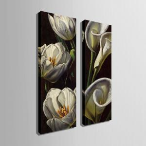 Special Design Frameless Paintings Lily Pattern 2PCS -