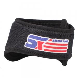 Shou Xin SX540 Patella Belted Adjustable Sports Knee Brace - Black -
