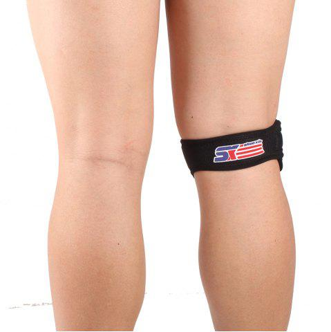Buy Shou Xin SX540 Patella Belted Adjustable Sports Knee Brace - Black
