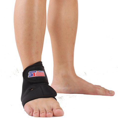 Discount Shou Xin SX560 Classic Adjustable Sports Ankle - Black Free Size