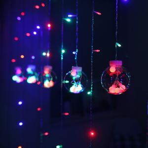 Wishing Balls LED Curtain Fairy Tale String Lights 220V Romantic Xmas Wedding Party Decoration Lights -